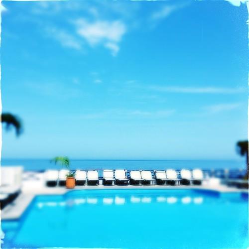 vacation sun relax mexico swimmingpool pacificocean suntan relaxation dixie oceanblue puertavallarta ipad poolchairs hipstamatic bayofbandaras vigilantphotographersunite tito1884