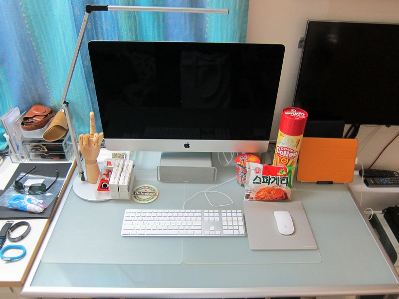 Koncept Z-Bar Slim LED Desk Lamp - On My Desk