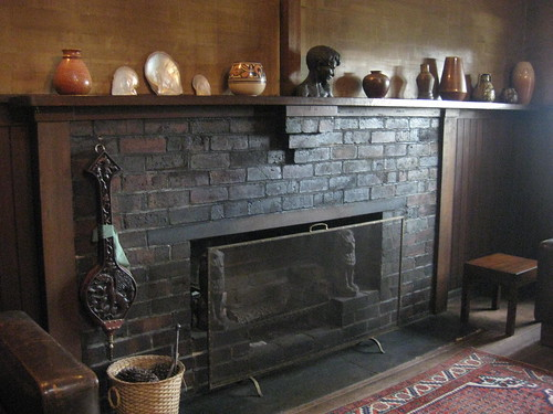 The Fireplace of the Great Living Hall of the Waller House – Fairy Hills
