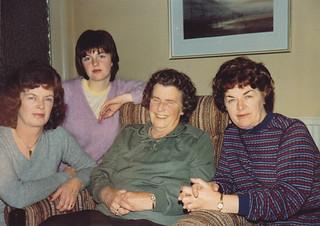 Granny's Birthday, Oct 1982