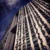#massive #architecture #walleffect #undeniably #ugly #urban #blue #concrete #singapore #sky