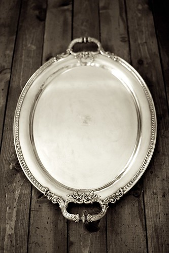 EPNS antique tray