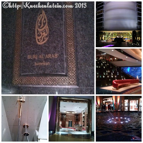©Collage Burj Al Arab innen