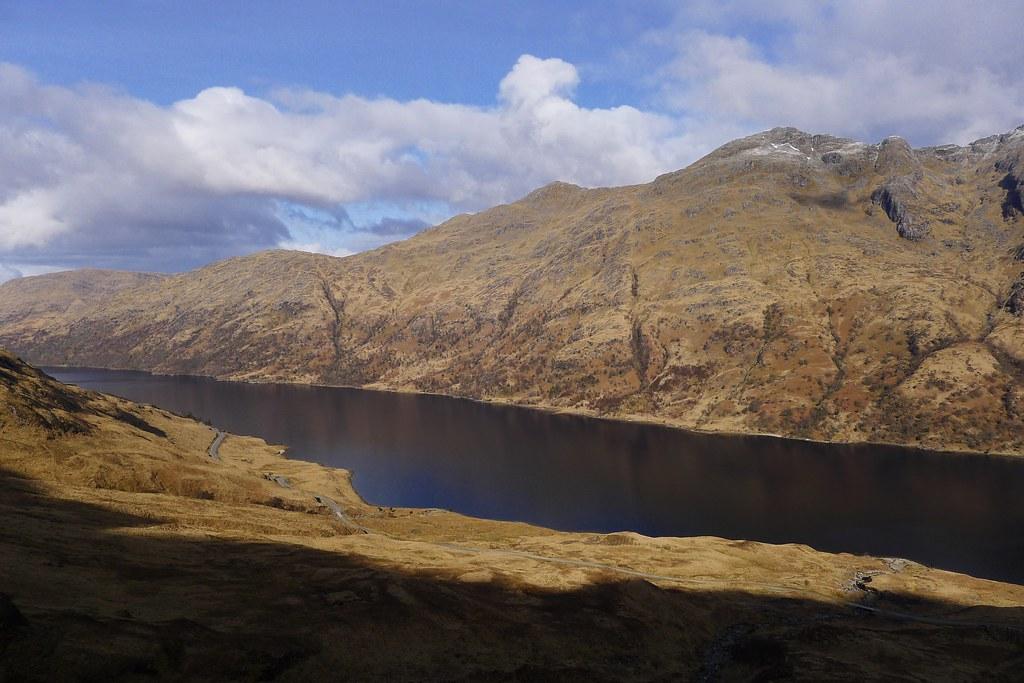 Loch Shiel and Beinn Odhar Bheag