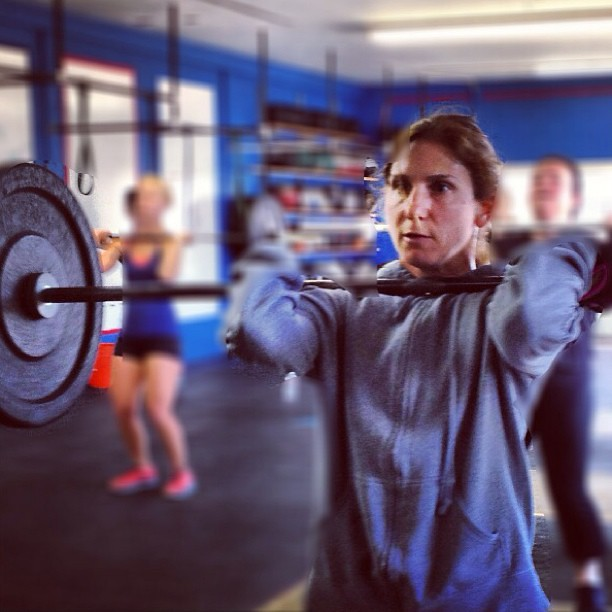 Jacqui getting it done. #crossfit #crossfitwomen #allwomencfla #dt
