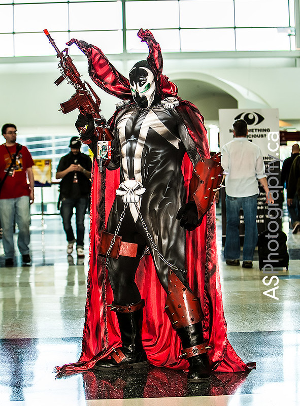 Spawn captured at C2E2 2013