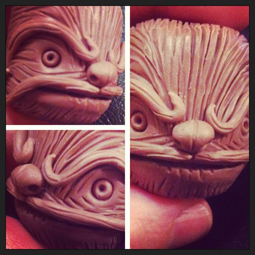 #maythe4thbewithyou @toysrevil draw a wookie I scribbled in clay