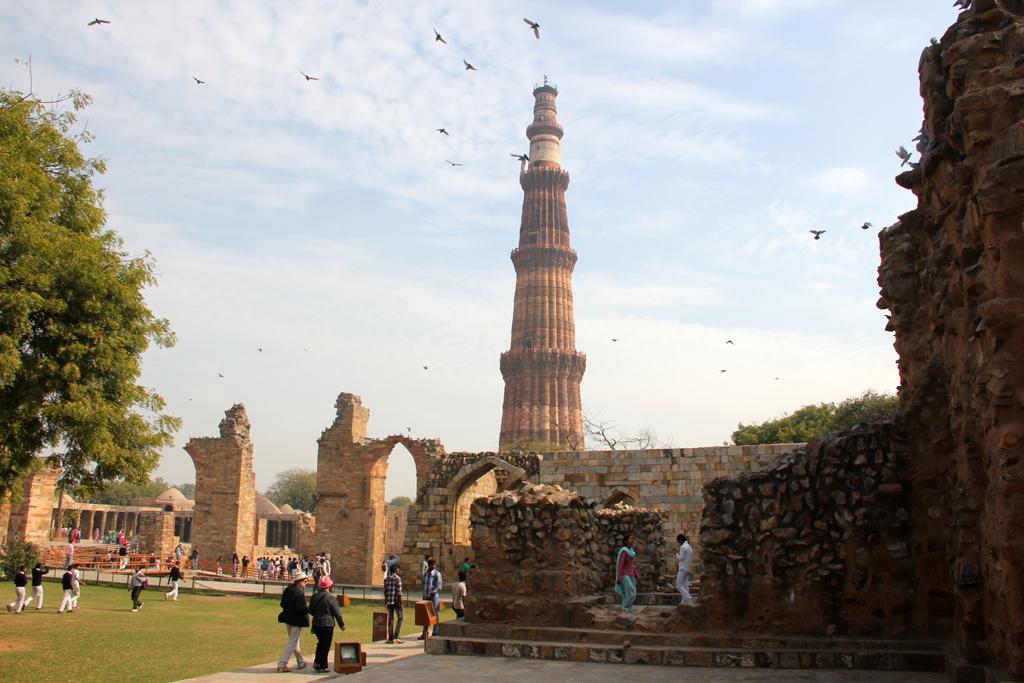 Qutub Minar in Delhi, India