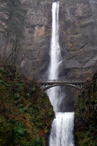 Multonmah Falls near Portland, Oregon
