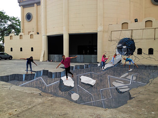 Vortex 3d Streetpainting