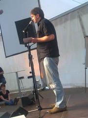 Andi Plammer - textstrom Poetry Slam Wien goes Stadtfest