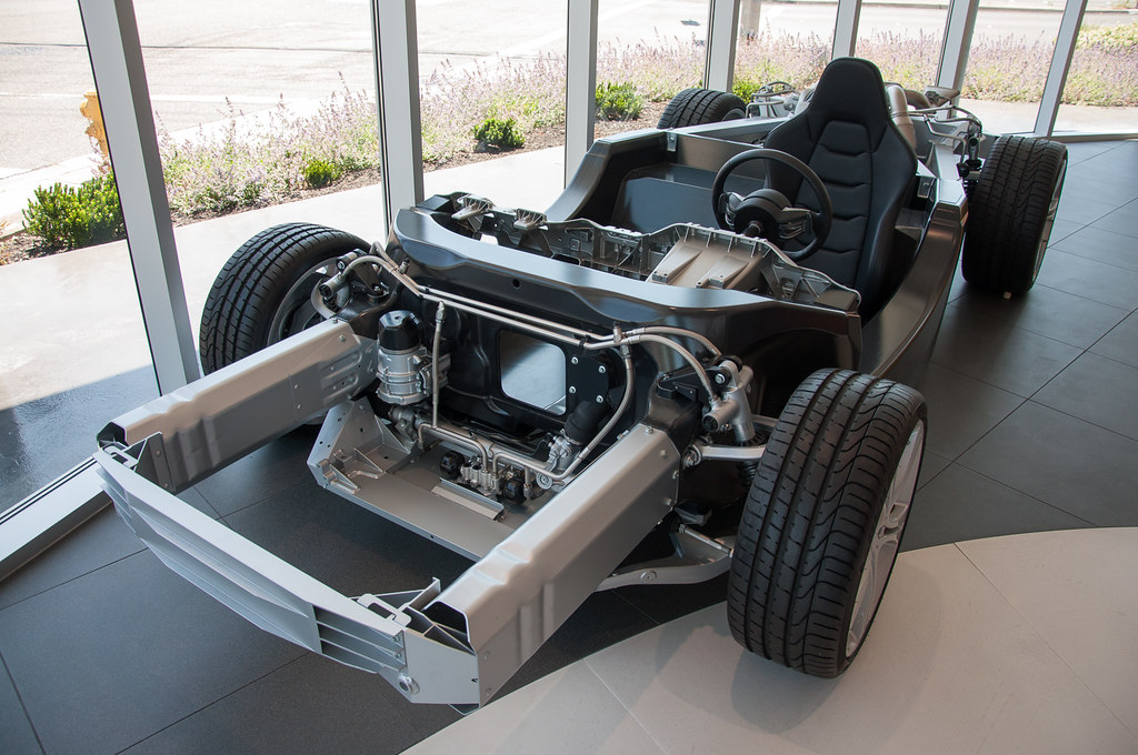 MP4-12C bare chassis