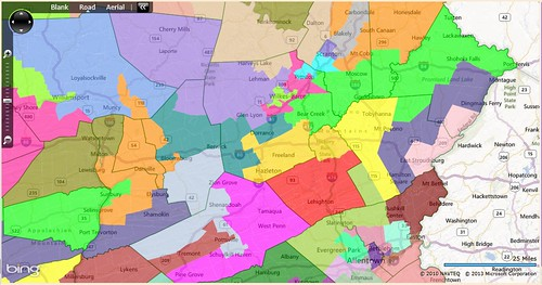 What pa republicans could have done devastating maps of pas pa strep dis nepa altavistaventures Gallery