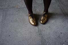 Golden feet