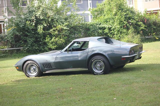 1970 Chevrolet Stingray Corvette Laguna Gray Flickr