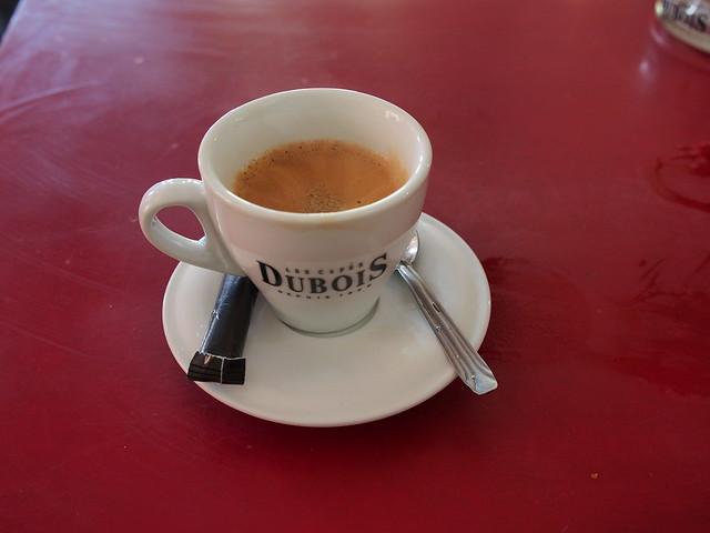 我點的美式咖啡
