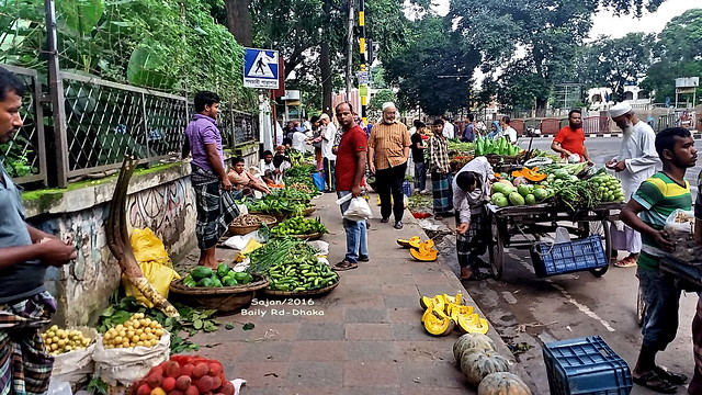 Morning Veg market