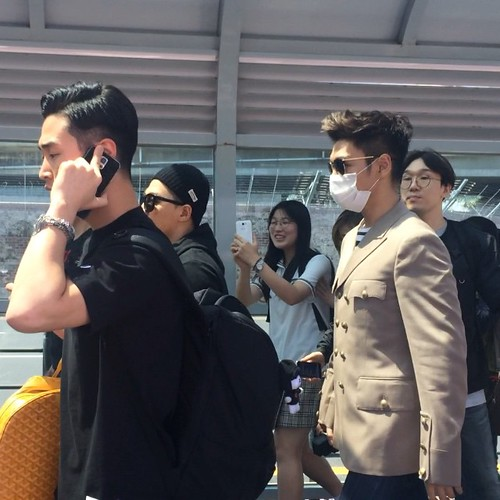 Big Bang - Jeju Airport - 19may2015 - TOP - heyomma - 02