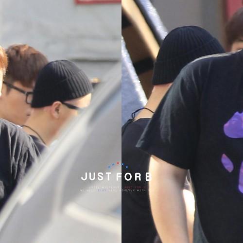 BIGBANG Leaving SBS Inkigayo 2015-05-24 001
