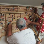 Jim and Joe hard at work finding those last little electrical gremlins.
