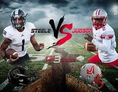 It's going down this Friday‼️Judson vs Steele #ok3sports