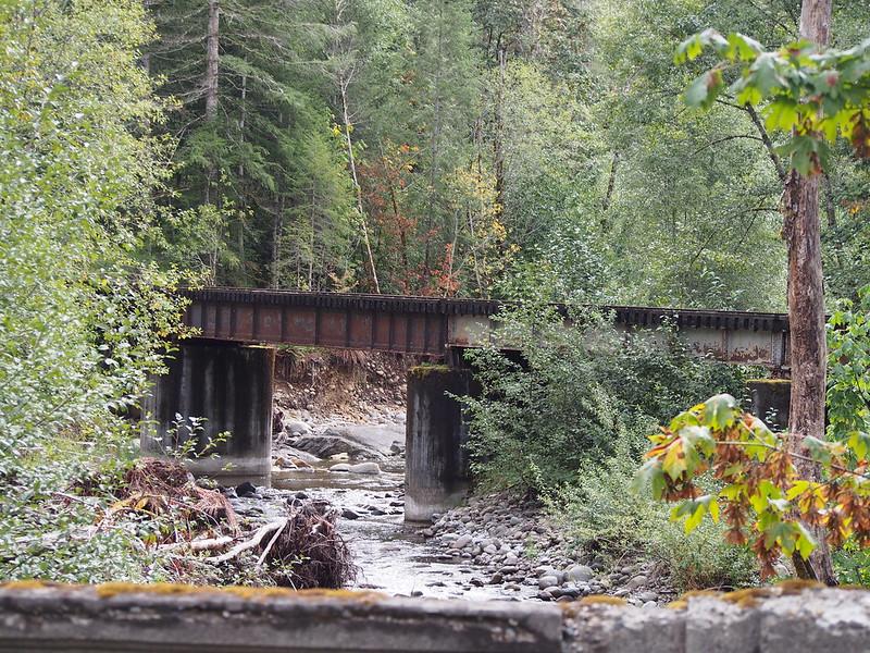 Abandoned Tacoma Eastern Railroad Bridge