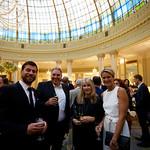 Delegates enjoying drinks at the Westin Palace Hotel