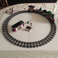 Winter Village Holiday Train