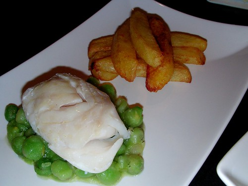 Cod without batter thrice cooked chips. by rustumlongpig