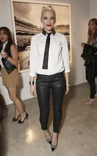 Gwen Stefani Monochrome Trend Celebrity Style Women's Fashion