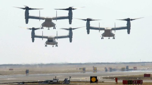 12 Ospreys headed to Japan in July, bound for Futenma