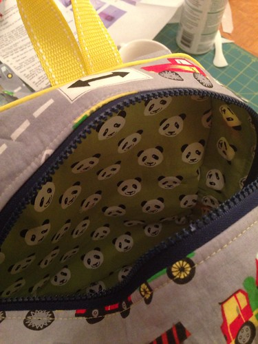 Backpack lining