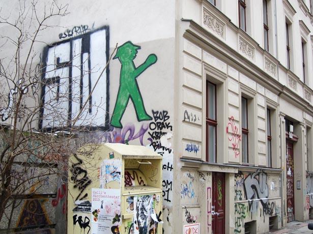 Berlin grafitti tre