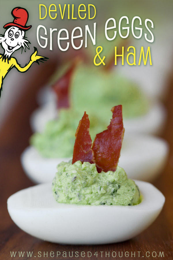 Deviled Green Eggs & Ham cathy nelson arkle