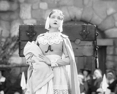 Lillian Gosh as Hester Prynne