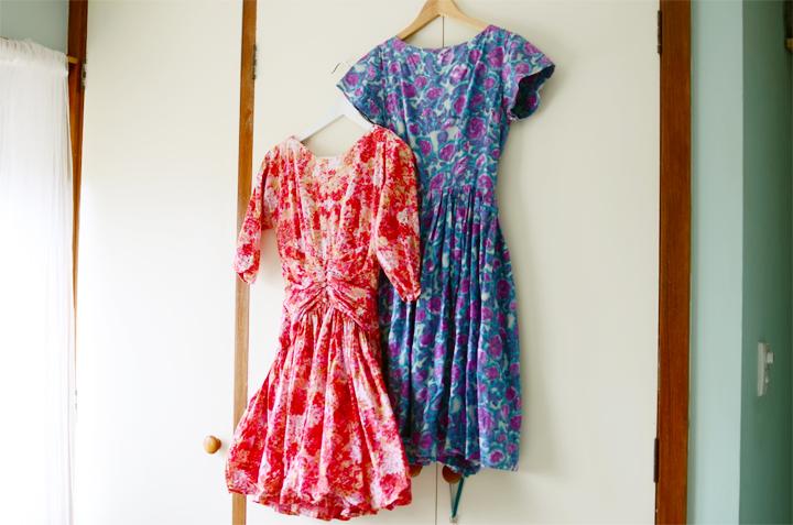 vintage full skirt dresses a