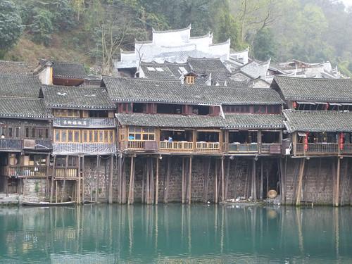 Hunan13-Fenghuang-Ville-Rive Nord (50)