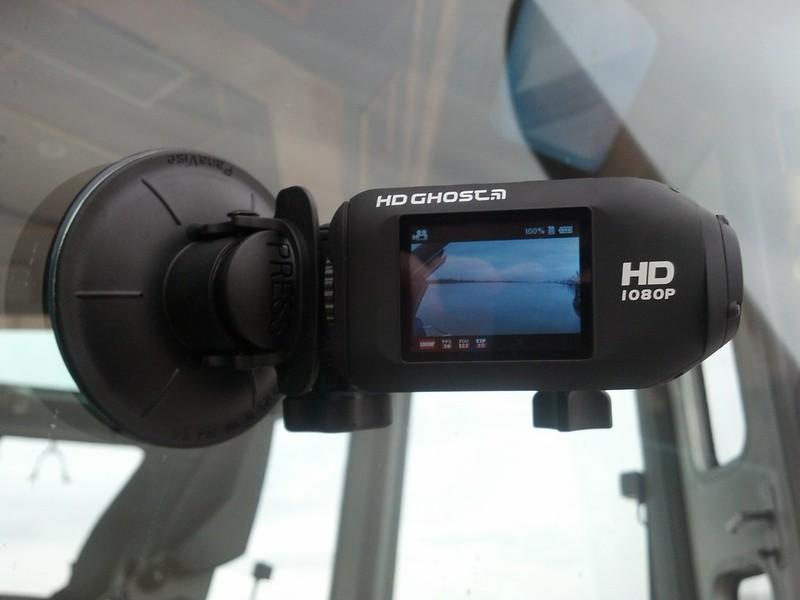 Ma caméra DRIFT prête à filmer - ©avril 2013 - bordeauxpaquebots.com