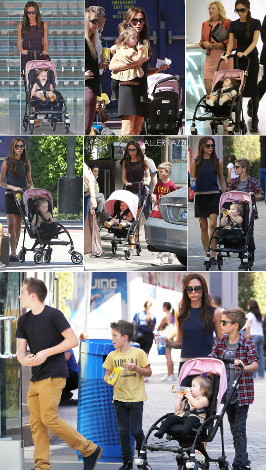 bugaboo bee harper beckham pink-all