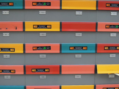 Letter boxes, Rotterdam