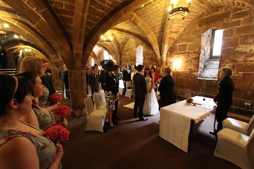 A fine wedding