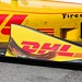 Donuts on the side of Ryan Hunter-Reay's car
