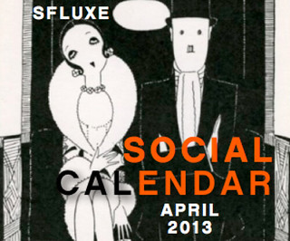 San Francisco Social Calendar – April 2013
