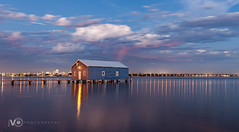 Boatshed at Night {EXPLORE}