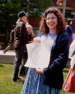Margaret with Hampshire Degree