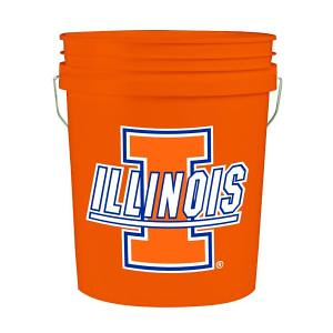 Giant Orange Illinois Bucket