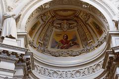 Evangelical Mosaic & Reformer Statue