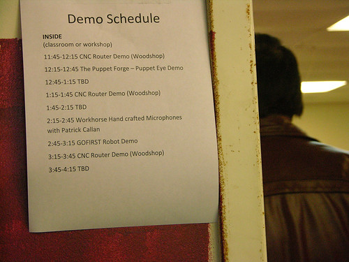Minne-Faire 2013 Demo Schedule