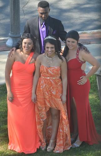 posing prom depotpark sanfordnorthcarolina