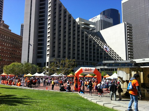End of MS Walk
